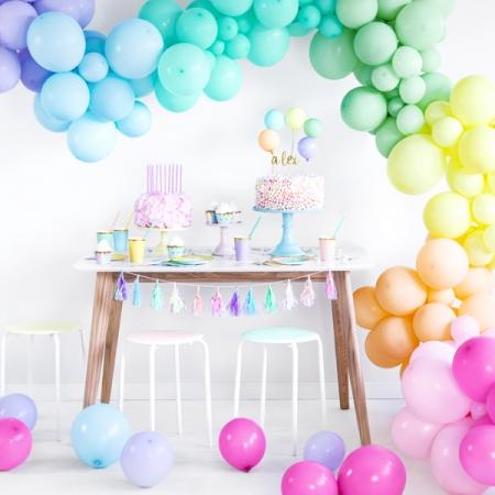 12 cm pastel ballonnen